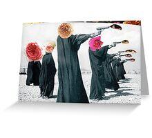 Guns of Rosehead Greeting Card