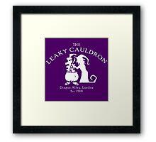 The Leaky Cauldron Framed Print