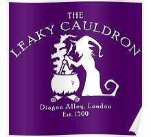 The Leaky Cauldron Poster