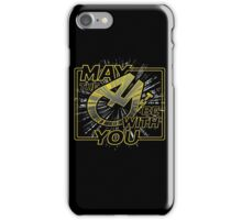 May the 4th be with you iPhone Case/Skin