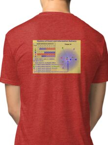 Science - Mystery of Event and Information Delivery Tri-blend T-Shirt
