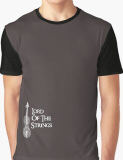 Lord of the Strings Graphic T-Shirt