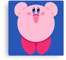 "Kirby ""Hiii"" Canvas Print"