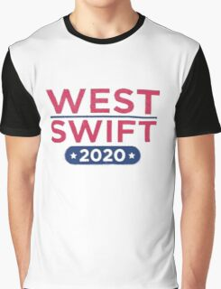 Kanye West for President & Taylor Swift for Vice President Graphic T-Shirt
