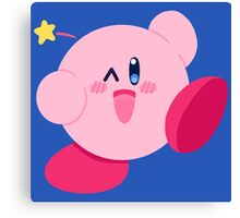 Kirby Wink Canvas Print