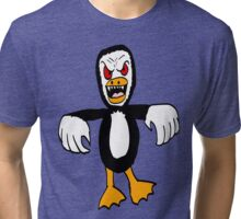 Penguin Monster Tri-blend T-Shirt