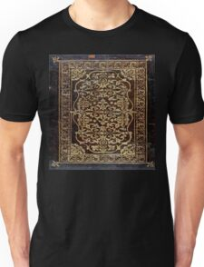 Gilded Leather Tome Unisex T-Shirt