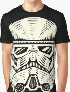 Space Soldier Helmet Graphic T-Shirt