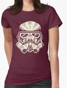 Space Soldier Helmet Womens Fitted T-Shirt