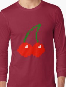 Pixel Cherry  Long Sleeve T-Shirt