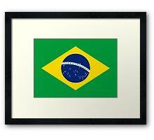 BRAZIL Framed Print