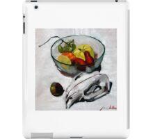 wombat fruit bowl iPad Case/Skin