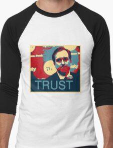 In Hinkie We Trust Men's Baseball ¾ T-Shirt
