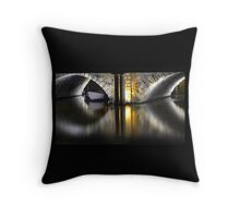 Golden Bridge - Bristol, 2011 Throw Pillow
