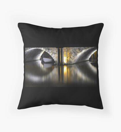 Golden Bridge - Bristol, 2011 Throw Pillow
