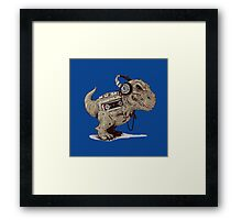 Record Store Day : Dino Loves Music Framed Print