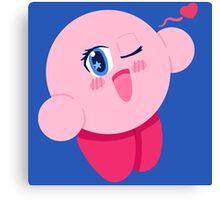 Anime Kirby Canvas Print
