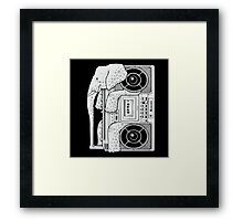 Record Store Day : Elephant Loves Music Style Framed Print