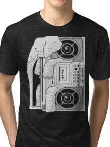 Record Store Day : Elephant Loves Music Style Tri-blend T-Shirt