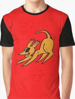Cute Cartoon Doggie  Graphic T-Shirt