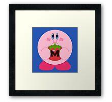 Metamato Kirby Framed Print