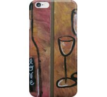Bottles and Glasses iPhone Case/Skin