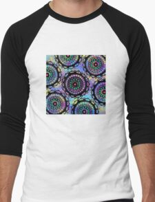 Mandala Magic Men's Baseball ¾ T-Shirt