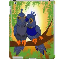 2 little Birds (1912 Views) Happiness is ...experiencing the sun rays together  iPad Case/Skin