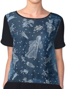 All the stars in the sky Chiffon Top