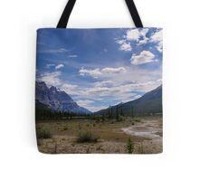 Remote and Lonely Valley Tote Bag