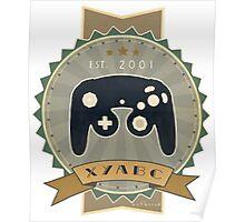 Retro GameCube Controller Poster