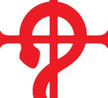 Fullmetal Alchemist Emblem Red Sticker