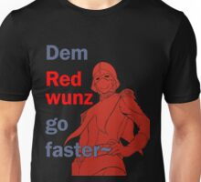 Quotes and quips - dem red wunz - Char Unisex T-Shirt