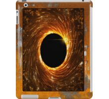black hole portal iPad Case/Skin
