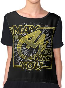 May the 4th be with you Women's Chiffon Top
