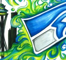 Seattle Seahawks 12th Man Sticker