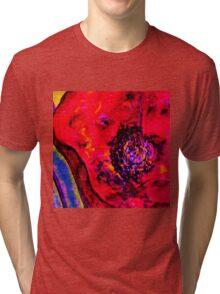 Surreal Poppy Tri-blend T-Shirt
