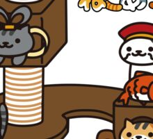 Neko Atsume Sticker