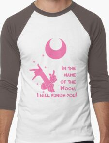 Quotes and quips - in the name of the moon, Men's Baseball ¾ T-Shirt