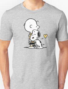 love it snoopy hug T-Shirt