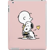love it snoopy hug iPad Case/Skin
