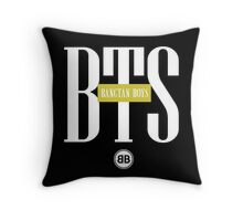BTS/Bangtan Boys Stussy-inspired Logo/Text Throw Pillow