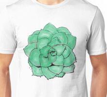 Watercolor Succulent Unisex T-Shirt