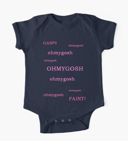 Quotes and quips - ohmygosh One Piece - Short Sleeve