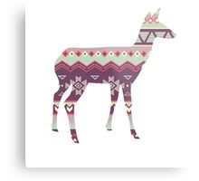 Tribal Deer  Metal Print