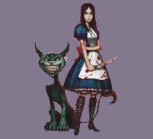 alice madness return chasire cat Kids Tee