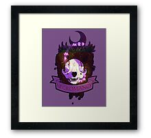 Necromancer Witchcraft Patch Framed Print