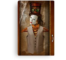 Skeleton In The Closet Canvas Print