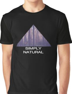 Simply Natural Forest Graphic T-Shirt