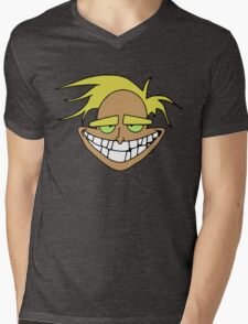 Freaky Fred Mens V-Neck T-Shirt